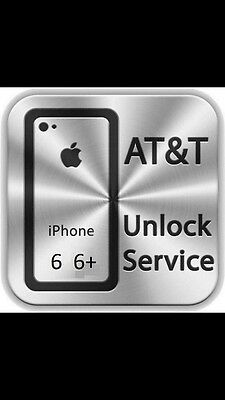 iPhone 6 and 6 Plus - AT&T FACTORY UNLOCK CODE SERVICE - 100% GUARANTEE - FAST