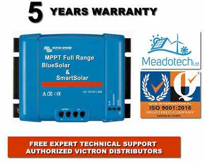 Victron Solar Chargers BlueSolar SmartSolar 10 to 50 Amp FREE EU Delivery