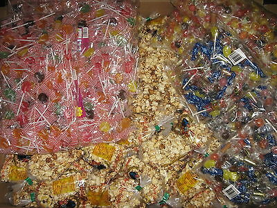 Muster Wurfmaterial Fasching  Kamelle 1 kg Bonbon 10 St. Popcorn 200 St. Lolly