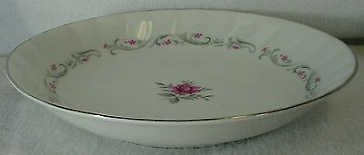 FINE CHINA of JAPAN china ROYAL SWIRL pattern SOUP or SALAD BOWL 7-3/4""