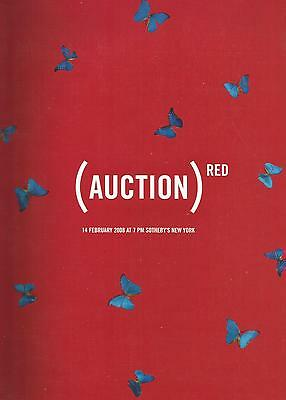 Sotheby`s Red Auction, Contemporary Art 2008