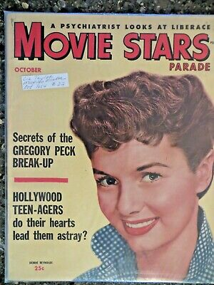 Movie Stars Parade Magazine  October 1954  Debbie Reynolds  GREAT VINTAGE ADS