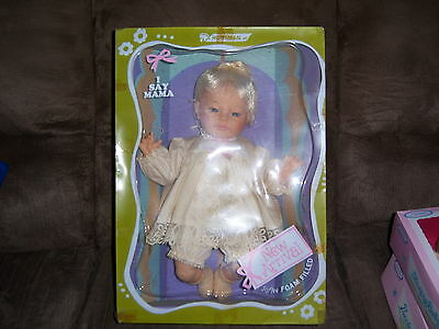 "RARE Vtg Horsman NEW ARRIVAL BABY Vinyl MAMA Doll  MIB! 18"" in Box NOS"
