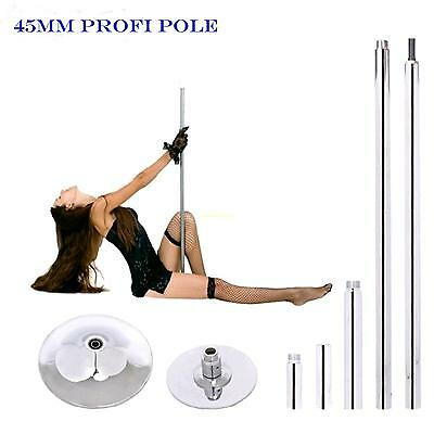 45mm Portable Stripper Fitness Exercise Pro Dance Strip Spinning Pole danza Pole