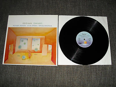steve kahn,casa loco,vinyl,lp,antilles rec,german press,1984