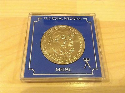 Royal Wedding Commemorative Coin Andrew and Sarah 1986