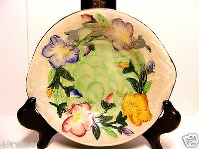 Small Maling Floral Lustre Pin Dish