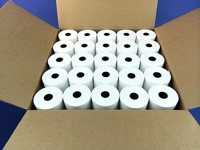"3-1/8"" x 230' THERMAL PoS RECEIPT PAPER - 30 NEW ROLLS  ** FREE SHIPPING **"