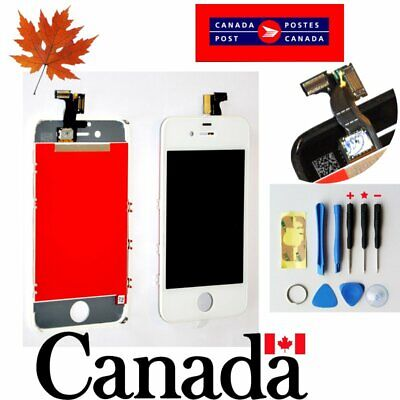 Replacement LCD Touch Screen Digitizer Glass Assembly  for iPhone 4s GSM White