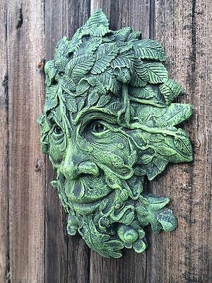NEW LOW PRICE! Mythical Green Man Wall Plaque Garden Ornament Latex Mould