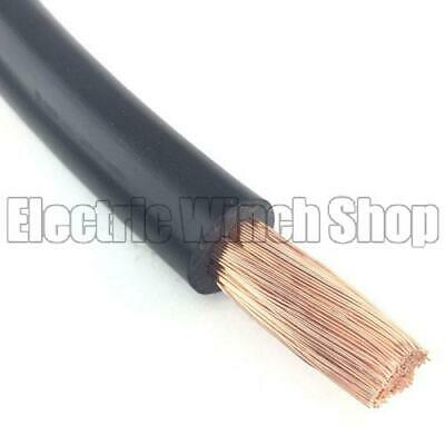 35mm2 Battery Cable - Black - Per Metre
