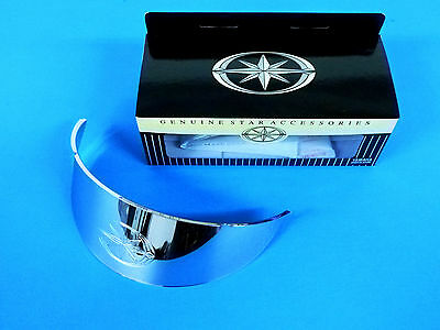 New Chrome Headlight Light Visor V-Star 650 1100 Road & Royal Star Yamaha B0097