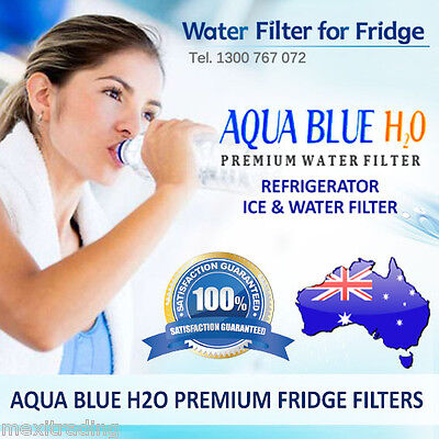 AQUA BLUE H2O REPLACEMENT FILTER FOR WHIRLPOOL/BOSCH/MAYTAG/GE and ETC FRIDGES