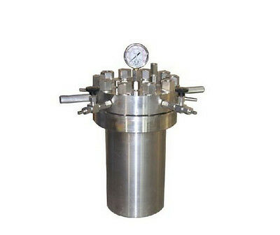 High pressure Hydrothermal Autoclave Reactor 500ml 380℃ 22Mpa customizable