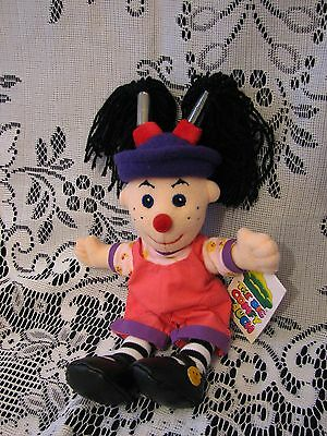 """NOS 1997 BIG COMFY COUCH LOONETTE DOLL MOLLY'S FRIEND 9""""  w/gift card"""