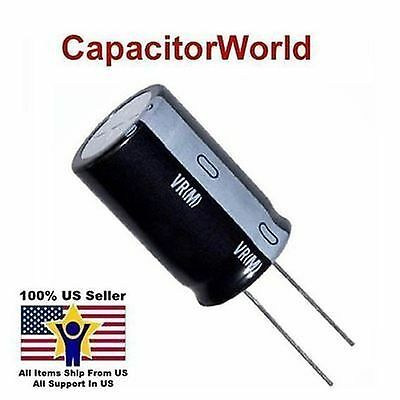 100 Pieces ELECTROLYTIC CAPACITORS 1000uF 25 V