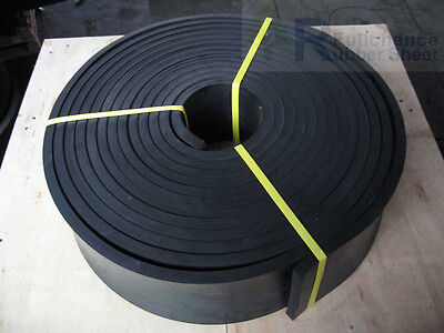 "1/2"" x 8"" RUBBER SKIRTBOARD FOR CONVEYOR BELTS"