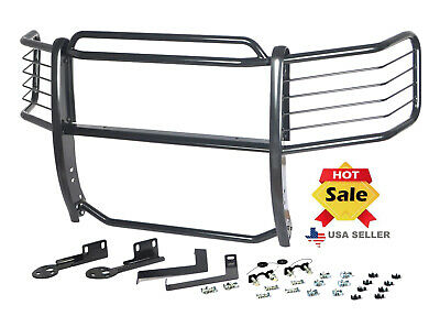 09-13 Ford F-150 (4WD or 2WD w/ tow hooks) Grille Guards Black