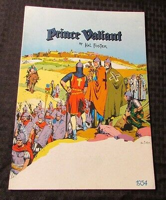1979 Pacific Comics Club PRINCE VALIANT 1954 Hal Foster FVF Oversized
