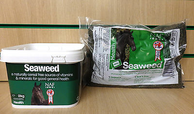 NAF Seaweed Horse Pony Supplement - Shiny Coat & Strong Hooves - Vitamins & Mins