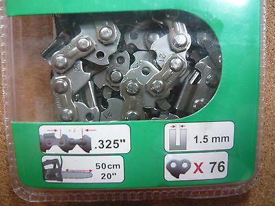 """TIMBERPRO 58cc / 62cc Genuine Spare Chain - 20"""" Replacement Chainsaw Saw Chains"""