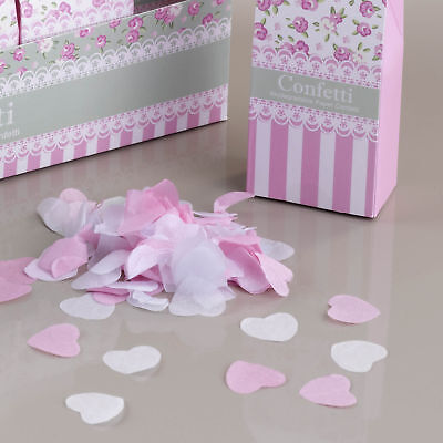 Confetti Heart Shaped Lovely Pink