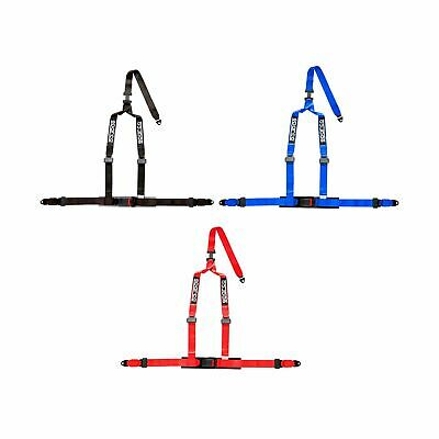 Sparco 3 Point Silver Double Release Clip In ECE Approved Seat Harness   4608DF