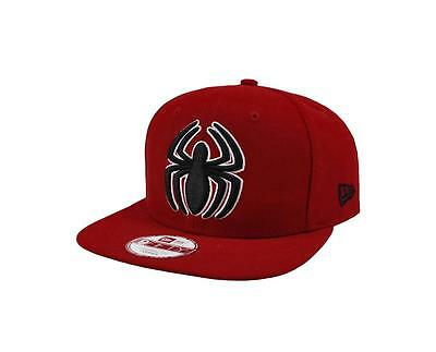 competitive price 9605f f9f2e ... denmark new era spiderman cap hat men 950 practice snapback one size  red polyester f75ff 53b40