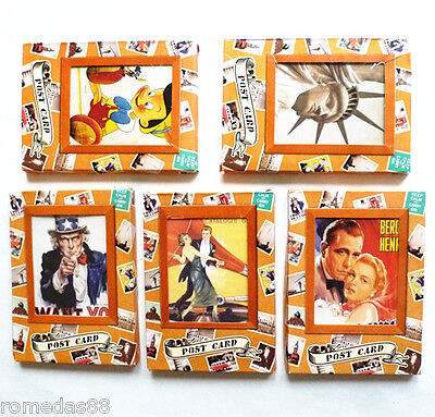 5 Lots 160pcs Collectable Classical Movie Rock Star Ads Poster Vintage Postcards