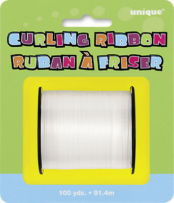 Curling Ribbon White Balloon Accessories