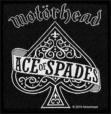 Motorhead - Ace Of Spades Patch - Brand New - Music Band 2449