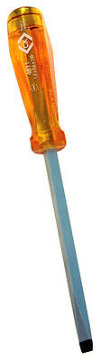 CK TOOLS HD CLASSIC HAMMER STRIKE THROUGH SLOTTED SCREWDRIVER - Various Sizes