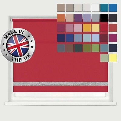 **Bargain** Made To Measure *Easyfit* 37 Cols! * Diamante Feature Roller Blinds