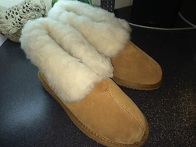 Plymouth Mocs Mens Ankle Boot Slippers Men's size 7