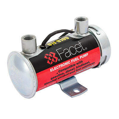 Facet Silver Top Competition Carb Fuel Pump - Brisca / Stock Car / F2 / Oval