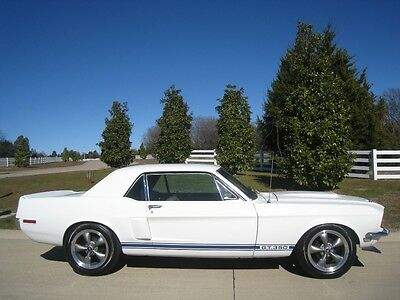 Ford : Mustang GT 350 1968 ford mustang gt 350 restomod coupe 289 auto w powersteering power brakes