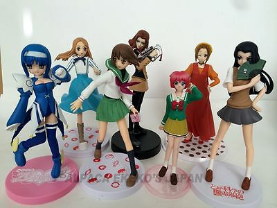 LOT SALE!!  Unknown Figure Set of 7 Anime Japan 585A