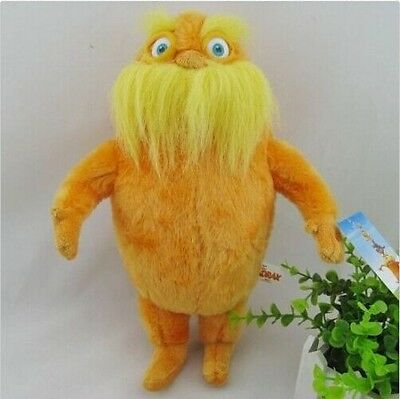 New Dr. Seuss The Lorax Plush Stuffed Animals Toys Dolls Lovely Gift 9""