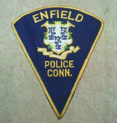 CT Enfield Connecticut Police Patch