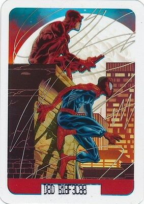 #99 DAREDEVIL/SPIDER-MAN 2008 Marvel Edibas Lamincards