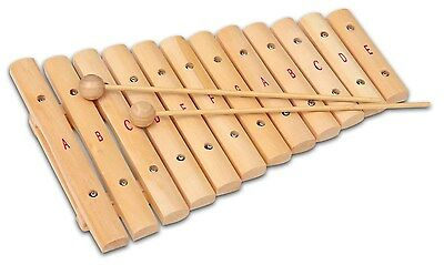 Bontempi - 12 Note Wooden Xylophone - Brand New - Free P&P