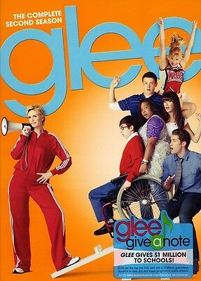 Glee: The Complete Second Season [6 Discs] (2011, DVD New)