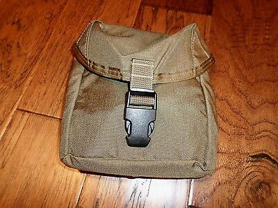 U.s Military Marine Corps Coyote Brown Medic Pouch Molle  First Aid