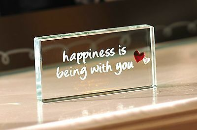 Spaceform Happiness Is Christmas Romantic Love Gift Ideas For Her