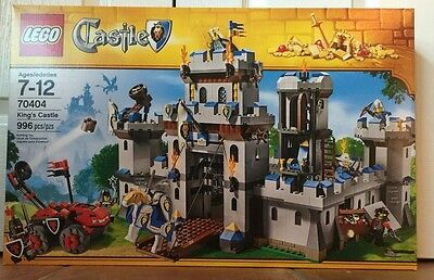 Lego 70404 King's Castle New Sealed Box Retired