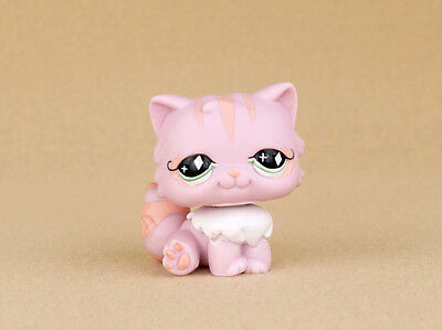 Littlest Pet Shop Pink Persian Cat #460
