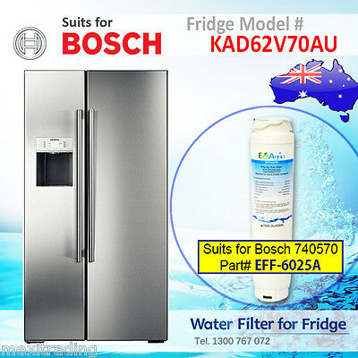 644845, 740570, 9000-077104 Replacement Fridge Filter Suits for Bosch KAD62V70AU