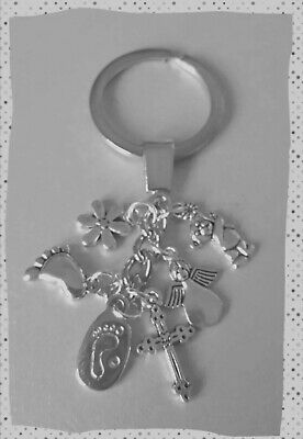 Memorial/in Memory Key Ring, footprints, angels,remember