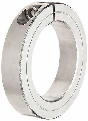 1-1//2 OD Climax Metal 1C-075-S T303 Stainless Steel One-Piece Clamping Collar With 1//4-28 x 5//8 Set Screw 3//4 Bore Size