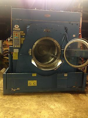 Milnor Commercial Washer Open Pocket Industrial 300lb 2 Available 2 Way Tilt